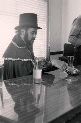 José Mojica Marins en El Retiro, 1988